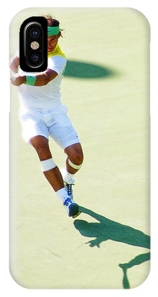 Rafael Nadal Shadow Play IPhone Case