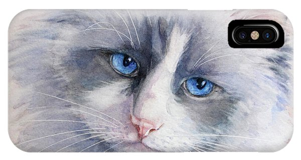 Ragdoll Cat IPhone Case