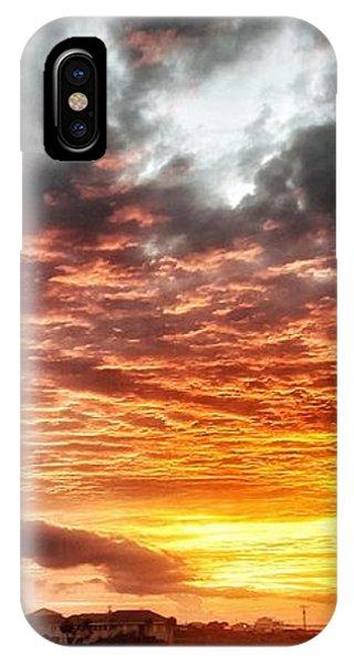 Raging Sunset IPhone Case