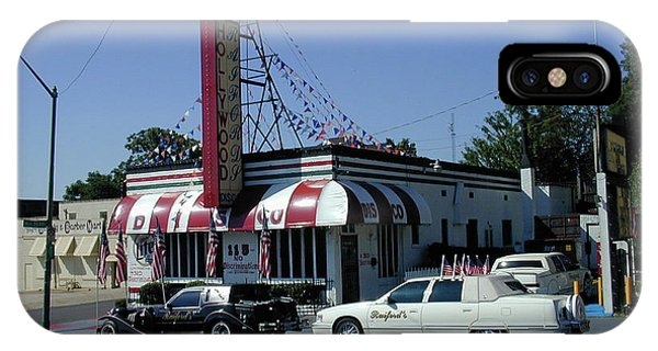 IPhone Case featuring the photograph Raifords Disco Memphis A by Mark Czerniec