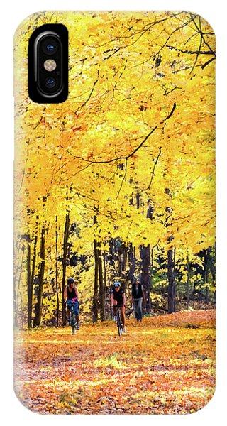 Autumn Glory On The Rail Trail IPhone Case
