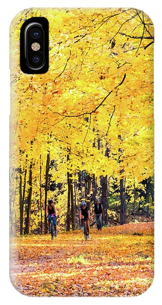 Autumn Glory On The Rail Trail IPhone Case