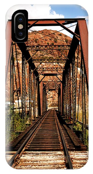 Railroad Bridge IPhone Case