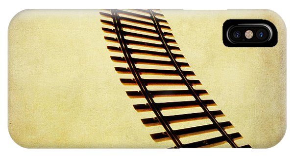 Train iPhone X Case - Railway by Bernard Jaubert