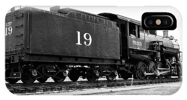 Railway Engine In Frisco IPhone Case