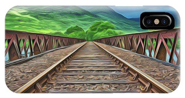 iPhone Case - Railway by Harry Warrick