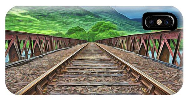 Railway IPhone Case