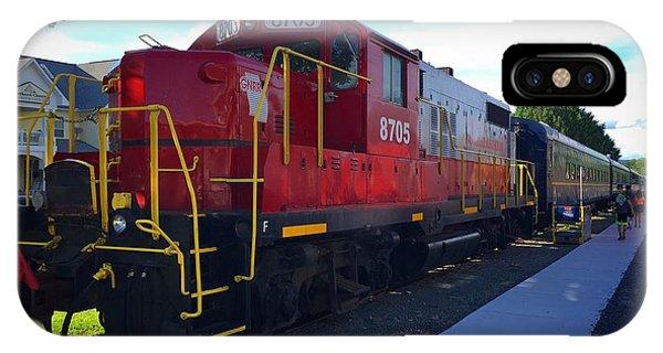Blue Ridge Railway IPhone Case