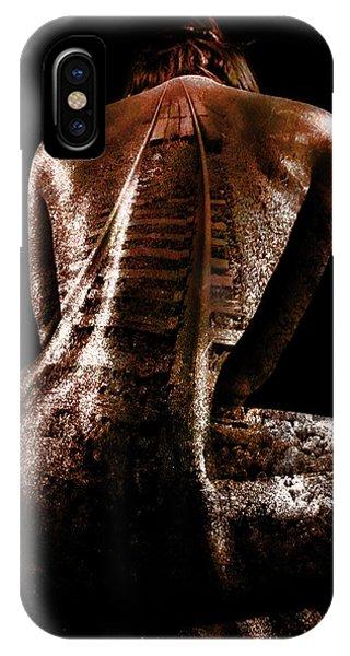 Layered iPhone Case - Railway Skin by Marian Voicu