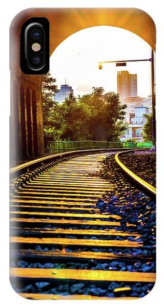 Railway Track Haeundae IPhone Case