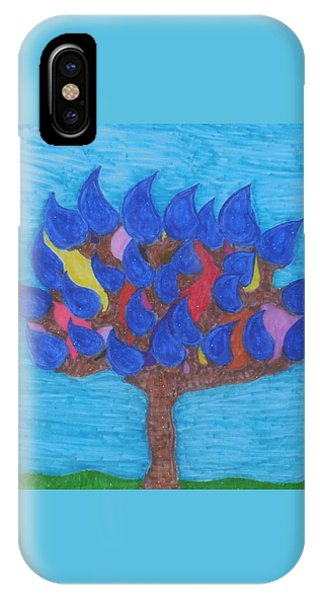 Rain Beauty Tree IPhone Case