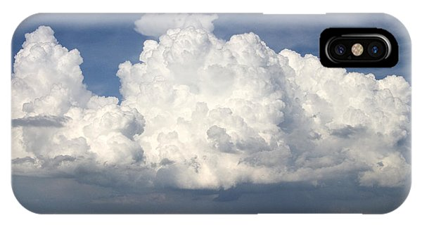 Rain Clouds Over Lake Apopka Phone Case by Carl Purcell