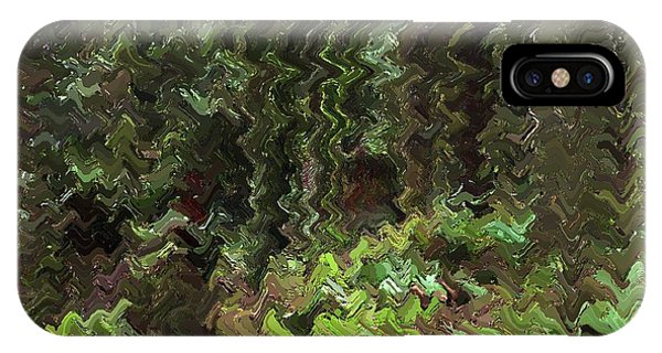 Rain Forest Abstract IPhone Case