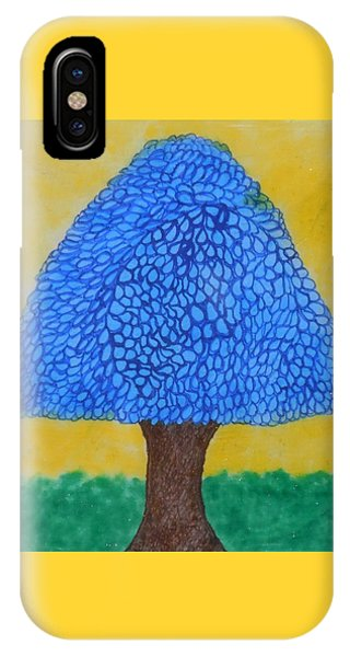 Rain Harmony Tree IPhone Case