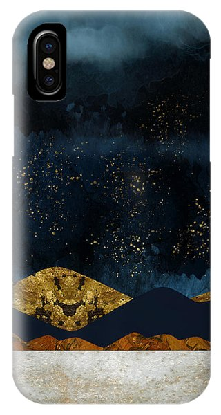 Abstract Landscape iPhone Case - Rain by Katherine Smit