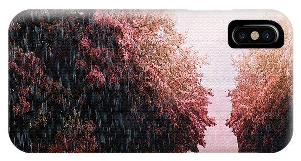 Rain On Imagination IPhone Case