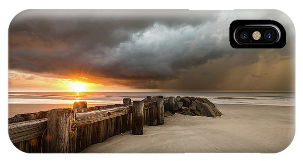 Carolina iPhone Case - New Beginnings, Pawleys Island Sunrise by Ivo Kerssemakers