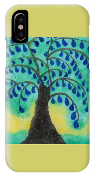 Rain Drop Umbrella Tree IPhone Case
