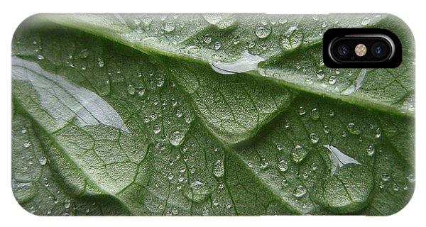Rain Splashed Snow On The Mountain IPhone Case