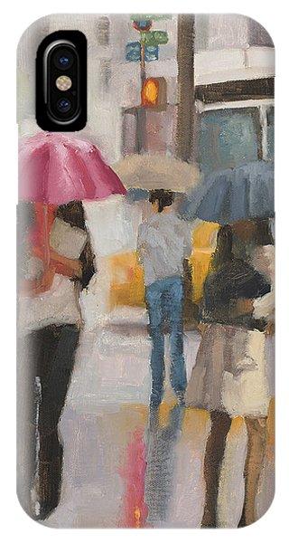 Rain Walk IPhone Case