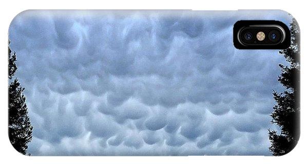 Rain Warning IPhone Case