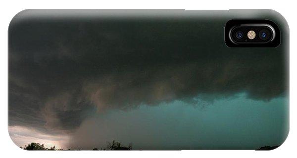 Rain-wrapped Tornado IPhone Case