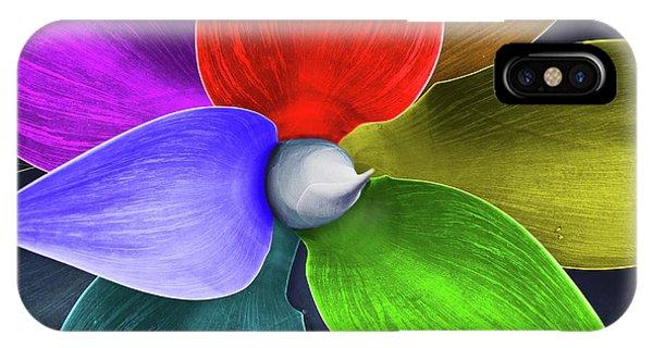 Gay Pride Flag iPhone Case - Rainbow Agave by Kira Yan