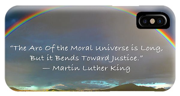 Martin Luther King - Justice IPhone Case