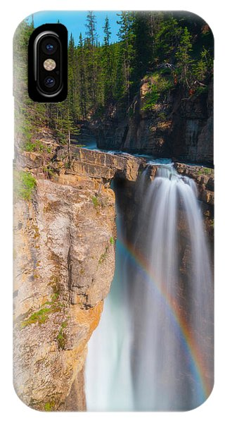 IPhone Case featuring the photograph Rainbow At Johnston Creek by Owen Weber