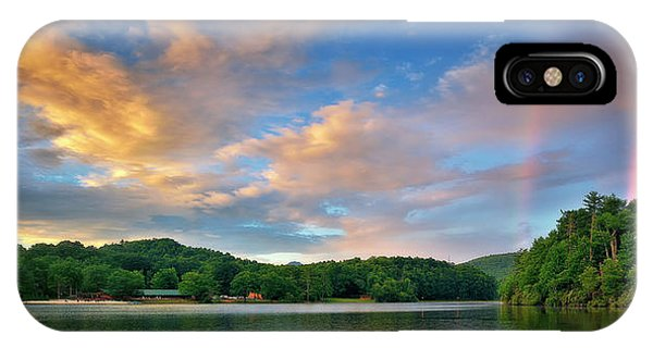 Rainbow At Linville Land Harbor IPhone Case