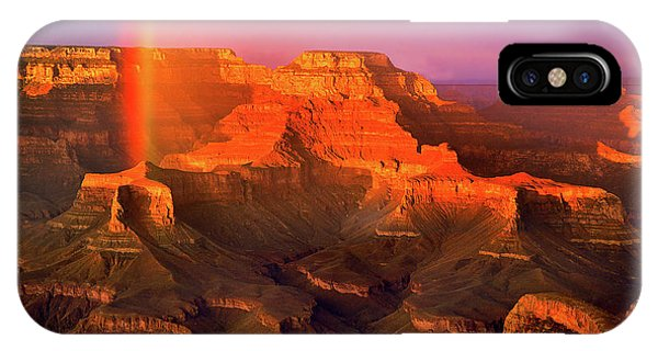 Rainbow At The Grand Canyon IPhone Case