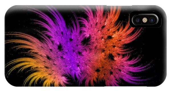 Rainbow Bouquet IPhone Case