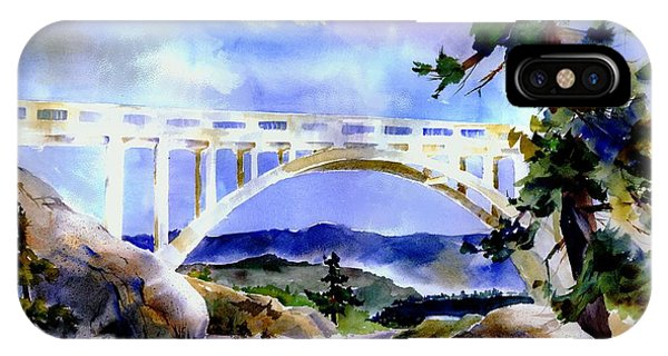 Rainbow Bridge Above Donnerlk#2 IPhone Case