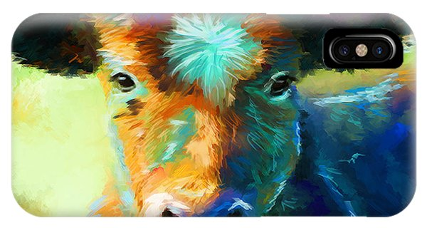 Rainbow Calf IPhone Case