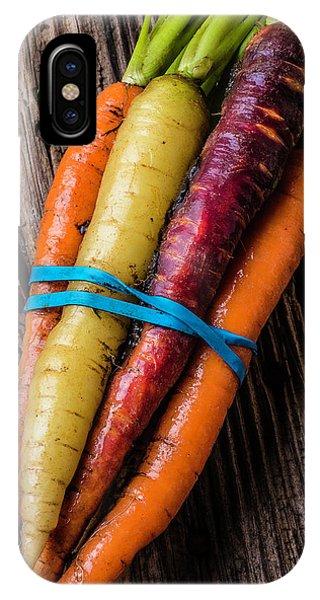 Rainbow Carrots IPhone Case