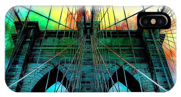 Architectural iPhone Case - Rainbow Ceiling  by Az Jackson