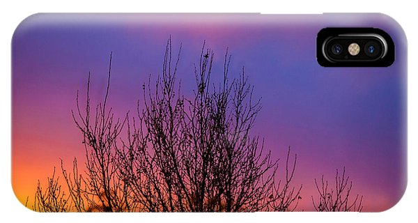 Nature Abstract iPhone Case - Rainbow Clouds by Az Jackson
