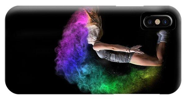 Rainbow Crescent IPhone Case
