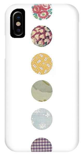 Simple iPhone Case - Rainbow Dots by Desiree Warren