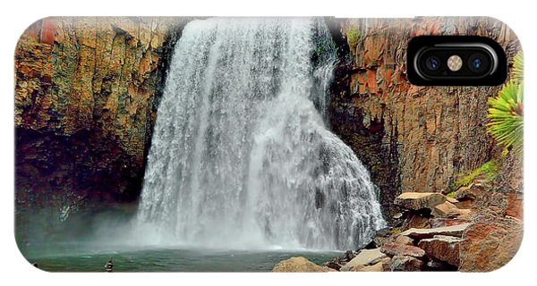 Rainbow Falls 10 IPhone Case