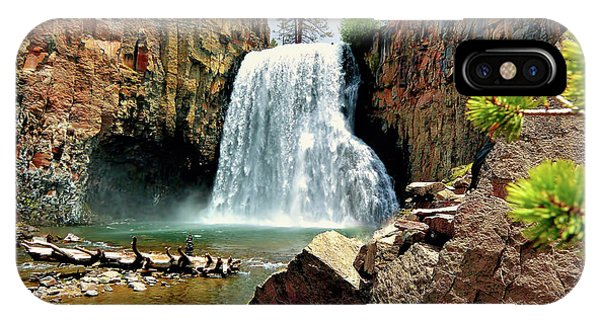 Rainbow Falls 15 IPhone Case