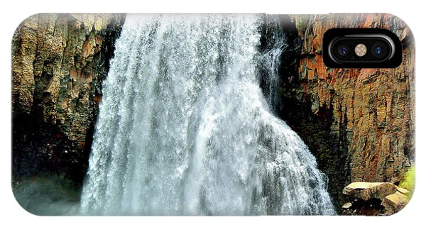 Rainbow Falls 16 IPhone Case