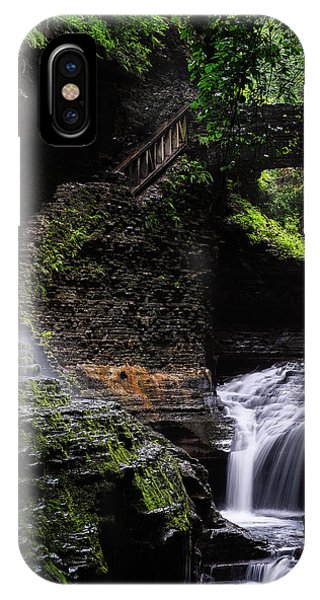 IPhone Case featuring the photograph Rainbow Falls by Edgars Erglis