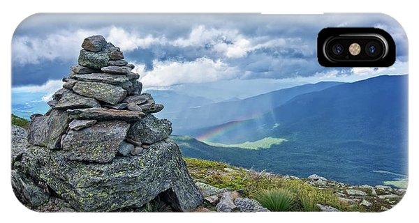 Rainbow In The Mist Nh IPhone Case