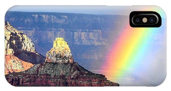 Rainbow Kisses The Grand Canyon IPhone Case