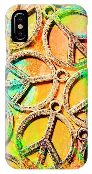 Funky iPhone Case - Rainbow Love by Jorgo Photography - Wall Art Gallery
