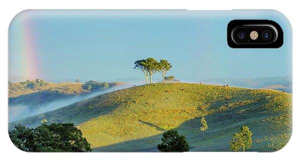 Nsw iPhone Case - Rainbow Mountain by Az Jackson