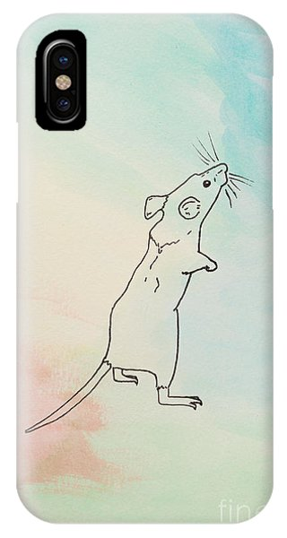 Rainbow Mouse IPhone Case
