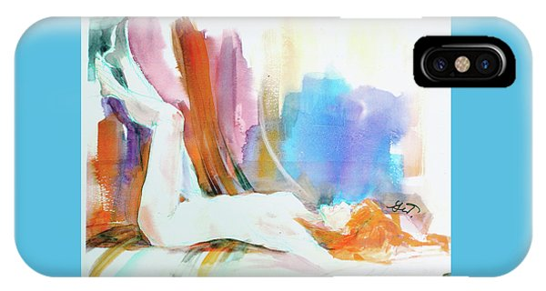 Rainbow Nude IPhone Case