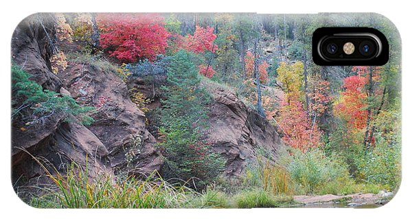 Rainbow Of The Season With River IPhone Case